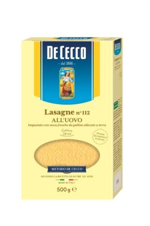 LASAGNE UOVO DE CECCO 12x0,500