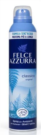 FELCE AZZ.  DEO ARIA CASA  SPRAY  CLASSICO ML.250