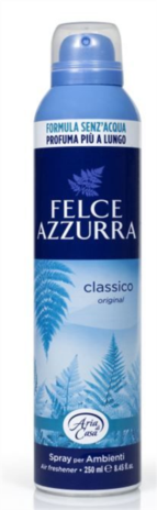 DEO ARIA CASA SPRAY CLASSICO 250ML. x 12