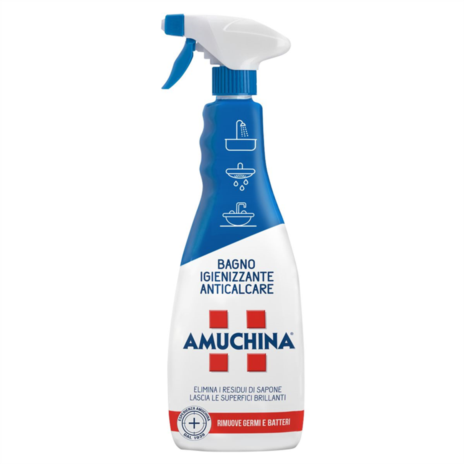 AMUCHINA DETERGENTE BAGNO SPRAY ML750