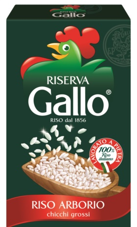 RISO GALLO ARBORIO KG.1x12