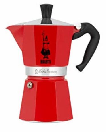 CAFF.MOKA COLOUR ROSSO 06x1tz