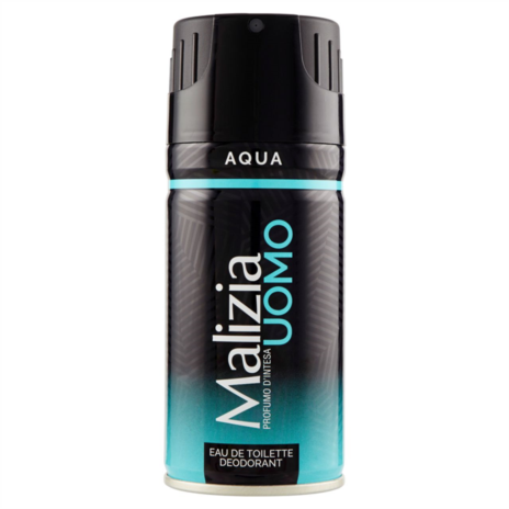 MALIZIA DEODORANTE SPRAY UOMO ML.150 AQUA