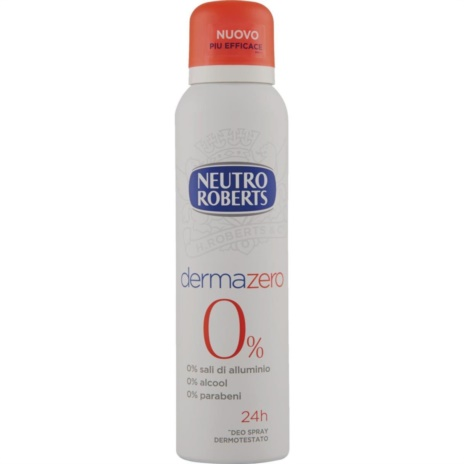 ROBERTS DEODORANTE DERMAZERO SPRAY ML.150