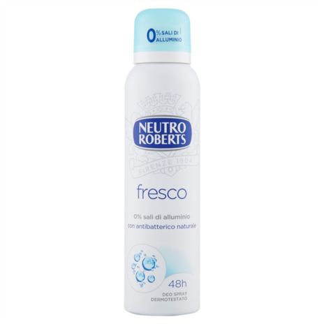 ROBERTS DEODORANTE FRESCO BLUE SPRAY ML.150