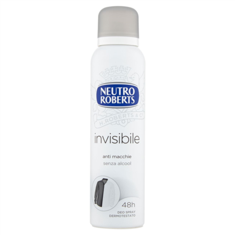 ROBERTS DEODORANTE INVISIBILE SPRAY ML.150