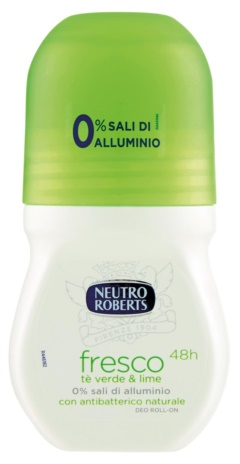 ROBERTS DEODORANTE FRESCO  VERDE R-ON ML.50