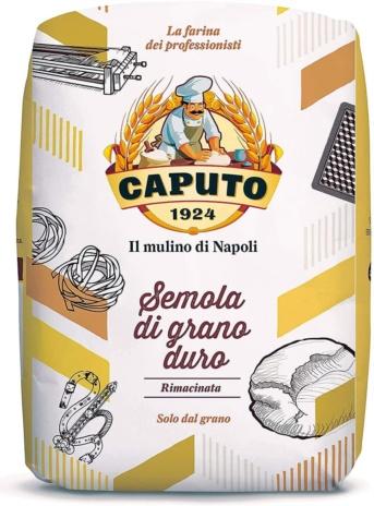 SEMOLA RIMACINATA GR.DURO CAPUTO KG.1x10