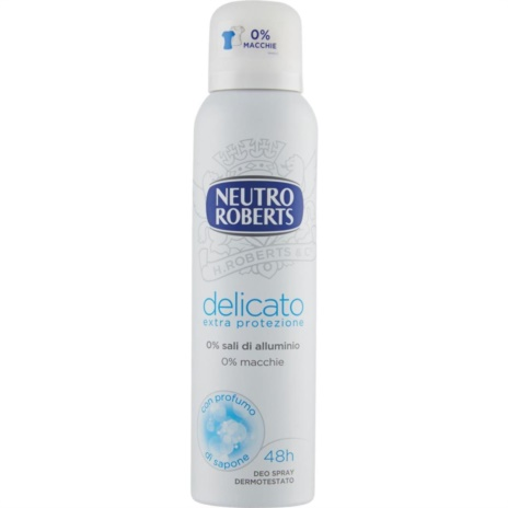 ROBERTS DEODORANTE DELICATO SPRAY ML.150