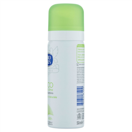 ROBERTS DEODORANTE FRESCO TÈ VERDE & LIME SPRAY ML.50