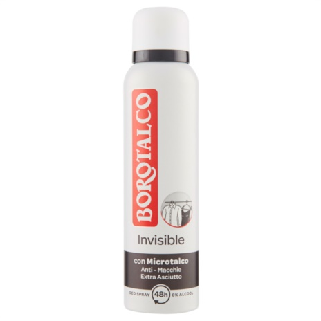 BOROTALCO DEODORANTE   INVISIBILE SPRAY ML.150