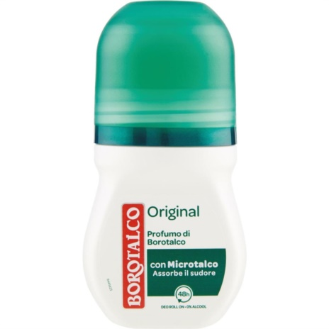 BOROTALCO DEODORANTE  ORIGINAL R-ON  ML.50