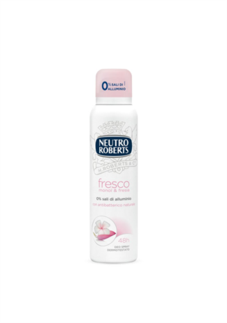 ROBERTS DEODORANTE FRESCO ROSA SPRAY ML.125