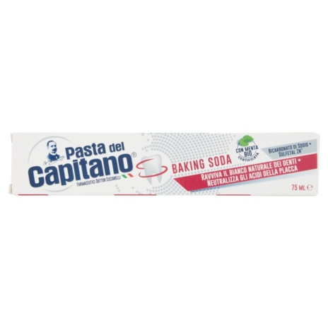 CAPITANO DENTIFRICIO BAKING SODA ML75