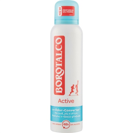 BOROTALCO DEODORANTE ACTIVE BLU SPRAY    ML.150