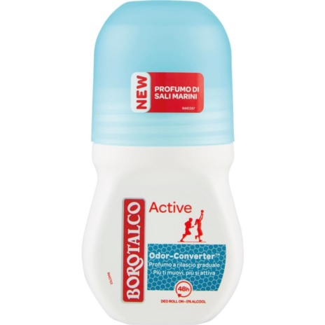 BOROTALCO DEODORANTE ACTIVE BLU R-ON    ML.50