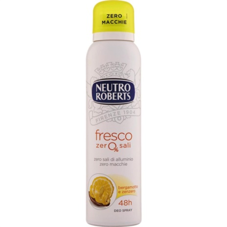 ROBERTS DEODORANTE FRESCO GIALLO SPRAY ML.150