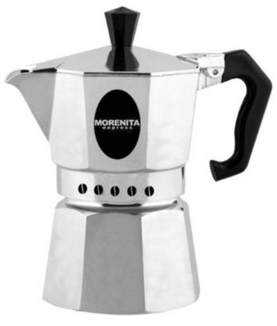CAFF.MOKA INDUCT GREY 04x9tz