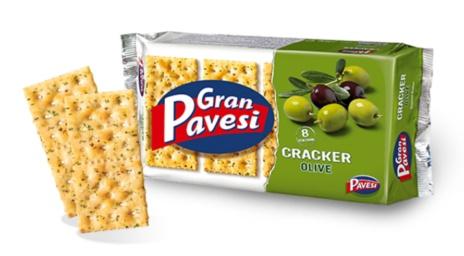 CRACKERS PAVESI OLIVE 12x0,280