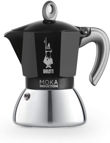 CAFF.MOKA INDUCT BLACK 04x6tz