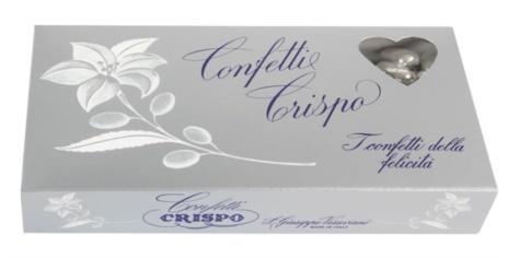 CONFETTI MAND.ARGENTO 16x0,500