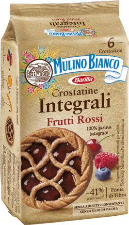 CROSTATINE INTEGR.FRUTTI BOSCO 16x0,216