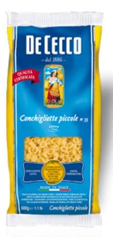 CONCHIGLIETTE PICCOLE 24x0,500