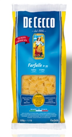 FARFALLE DE CECCO 24x0,500