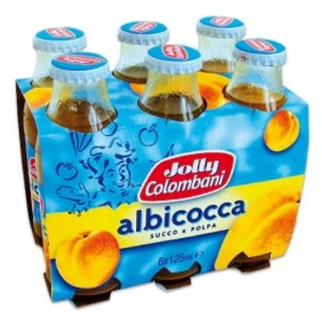SUCCHI JOLLY ALBICOCCA ML.125x6x8