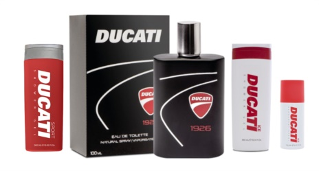 DUCATI LINEA IGIENE PROFUMO/SHOWER GEL / DEO SPRAY