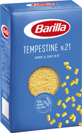 TEMPESTINE BARILLA N.21 16x0,500