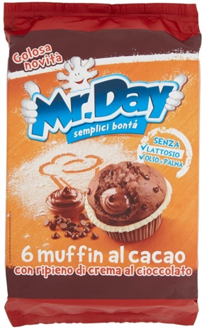 MUFFIN CACAO MR DAY 10x0,300