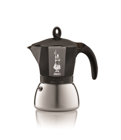 CAFF.MOKA INDUCT BLACK 04x6tz