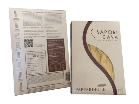 PAPPARDELLE UOVO 20x0,250