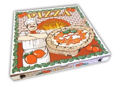 PIZZA BOX CA 26X26X4  PZ 100