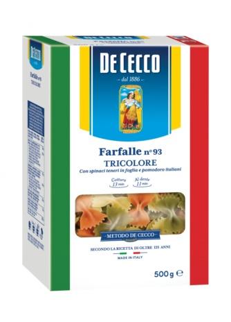 FARFALLE TRICOLORE 12x0,500